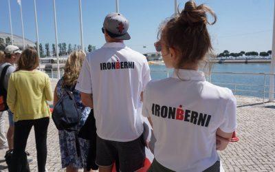 IronBerni na połówce w Lizbonie